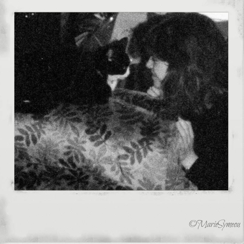Suzy with me in the late 80s